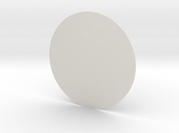 圓桌.x3d in White Strong & Flexible