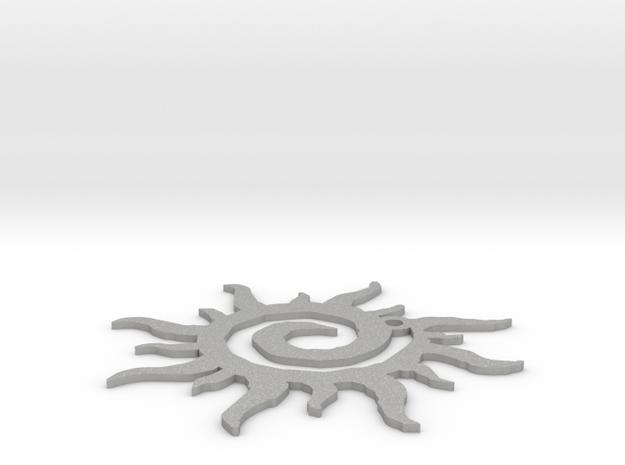 Sun in Raw Aluminum: Small