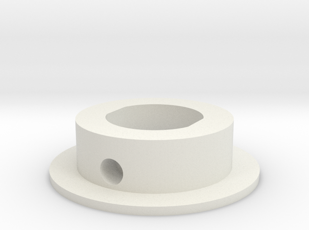 "Blade Inserts - 1"" Thick Wall in White Natural Versatile Plastic"