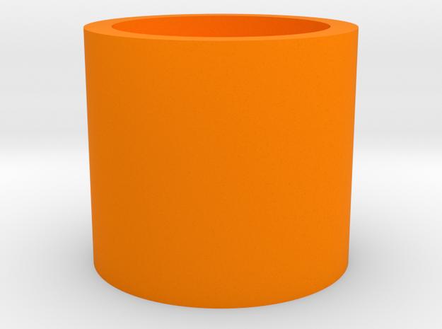 杯子 in Orange Strong & Flexible Polished: Medium
