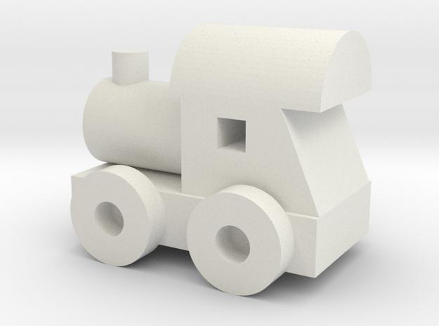 train in White Natural Versatile Plastic