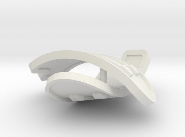 1:6 scale rib armor pair 3d printed