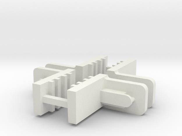 FixLat Mosler -1 MiniZ 2pr  in White Strong & Flexible