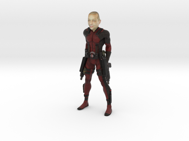 Deadpool with your face 100mm