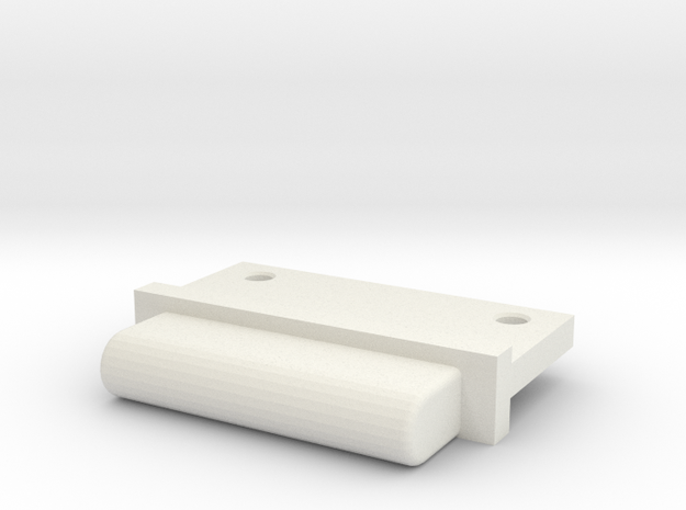 FixAV Mosler MiniZ  in White Natural Versatile Plastic
