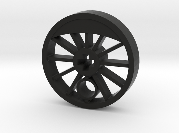 ML Steam Driver - Blind in Black Natural Versatile Plastic
