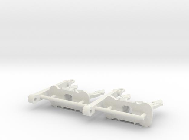 SPEK Anker 3300 kg (2pcs) in White Strong & Flexible