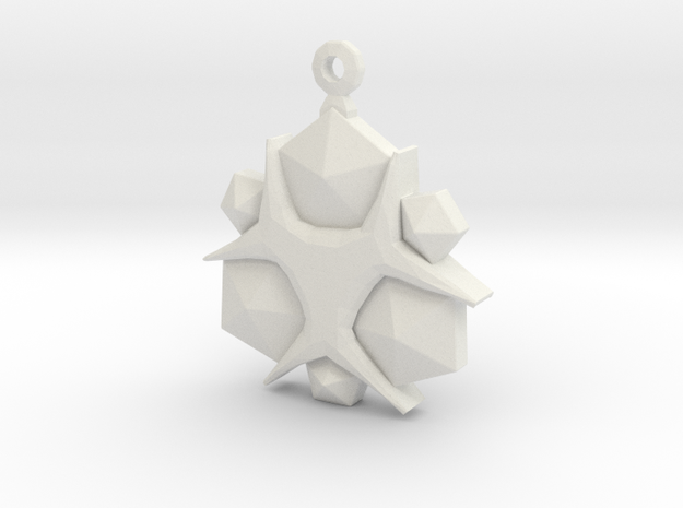 Zelda Nayru Gem in White Natural Versatile Plastic
