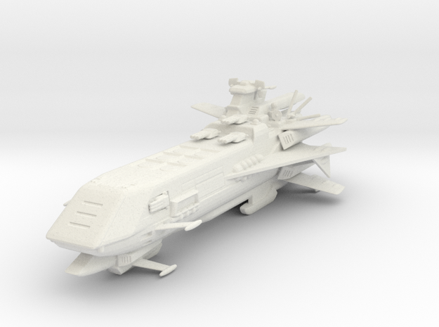 Star Sailers - Icarus - Deployment Ship  in White Natural Versatile Plastic