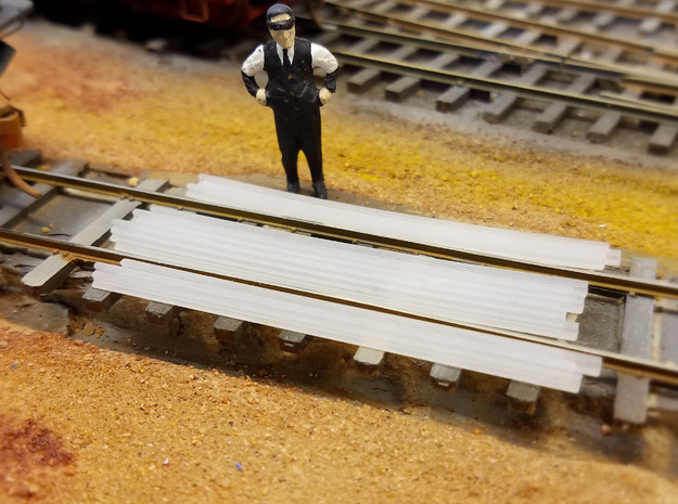 1-64 Cattle Guard 2016.11.28 in Smooth Fine Detail Plastic