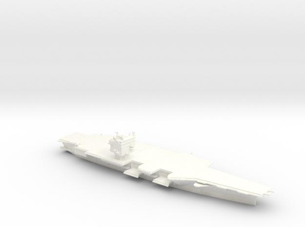 USS Enterprise CVN65 in 1/2500 (SWFP) in White Processed Versatile Plastic