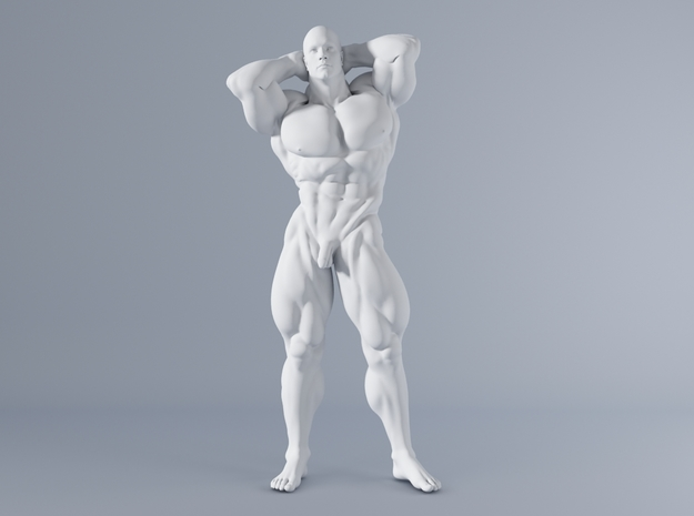 Mini Strong Man 1/64 037 in Smooth Fine Detail Plastic: 1:64 - S