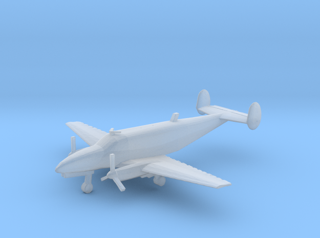1:400 Beechcraft 18 Volpar Turboliner  in Frosted Ultra Detail