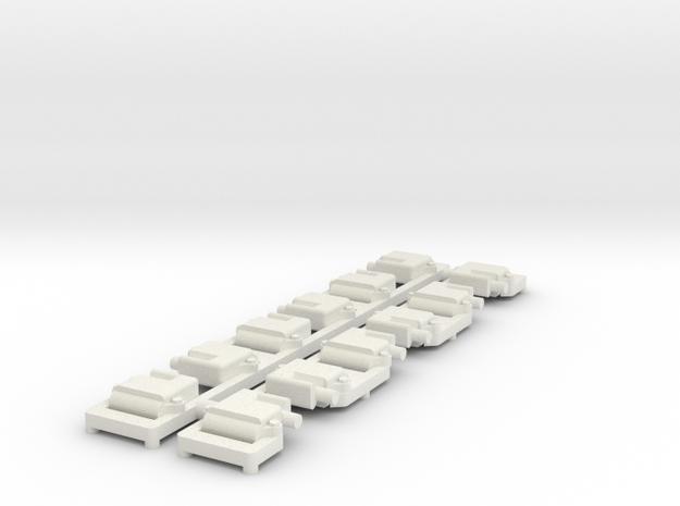 Ls3 V12 Coil Pack 1/12 in White Natural Versatile Plastic