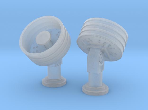 1:200 SatCom 45Deg in Smooth Fine Detail Plastic