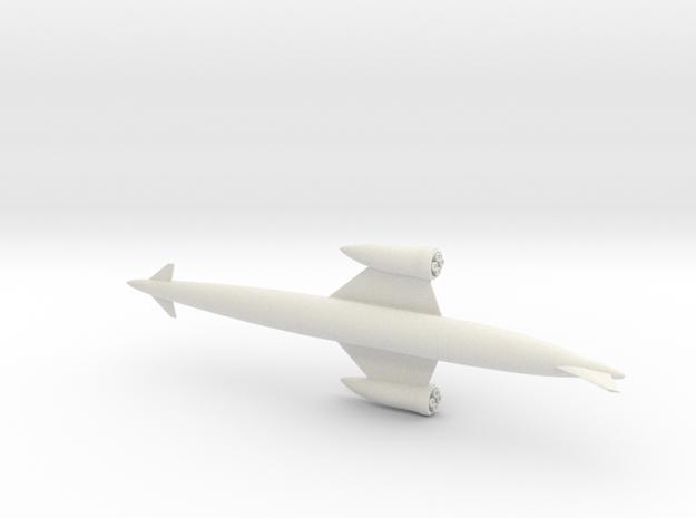 1/400 SKYLON UK SSTO SPACE PLANE in White Natural Versatile Plastic
