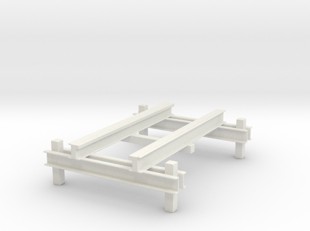 RMC IBox Roller Coaster Model in White Strong & Flexible