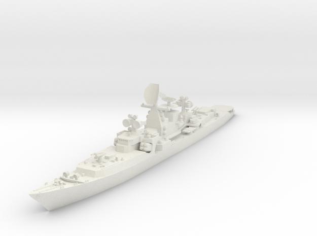 1/600 Soviet Kresta Cruiser in White Strong & Flexible