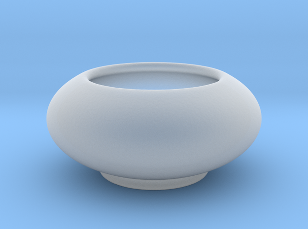 Bowl Hollow Form 2017-0008 various scales in Smooth Fine Detail Plastic: 1:24