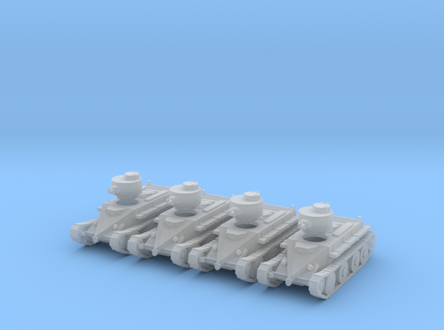 1/160 Christie T3 tank in Smooth Fine Detail Plastic