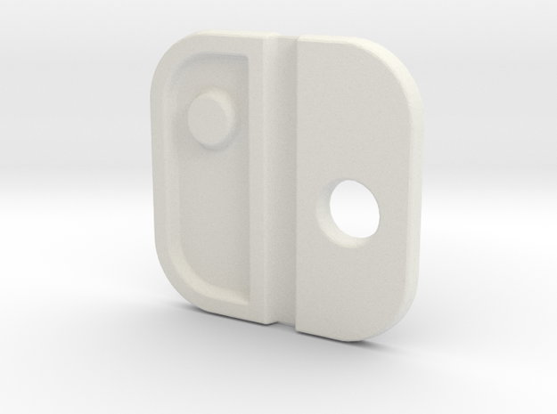 Switch Logo: Version 1 in White Natural Versatile Plastic