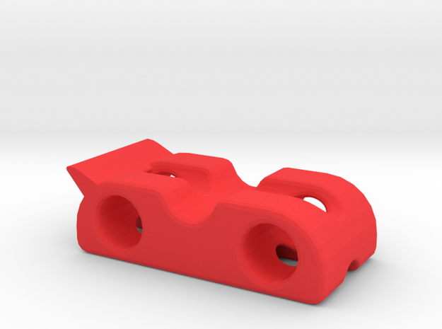 Car chassis 1 in Red Strong & Flexible Polished