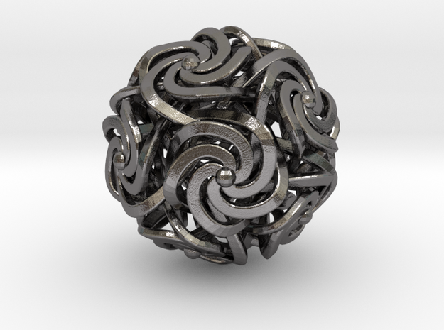 Dodecahedron W-Spirals 1.25inch