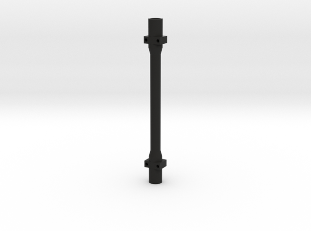 Scale Trailer Axle Tube in Black Strong & Flexible