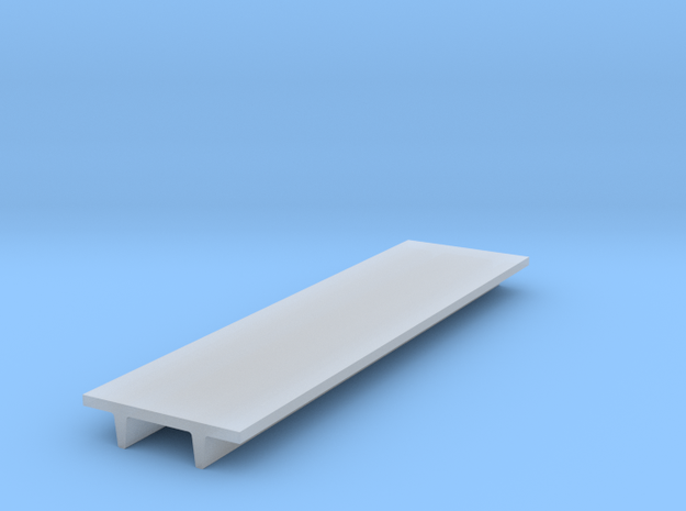 "'N Scale' - 8' Wide Double Tee x 30' Long x 24"" De in Smooth Fine Detail Plastic"
