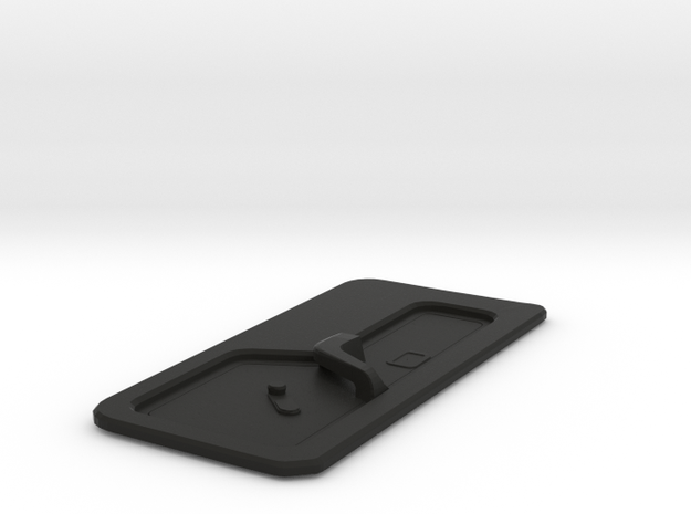 Car Door trim - M3 E30 - Left - 1/10 in Black Natural Versatile Plastic