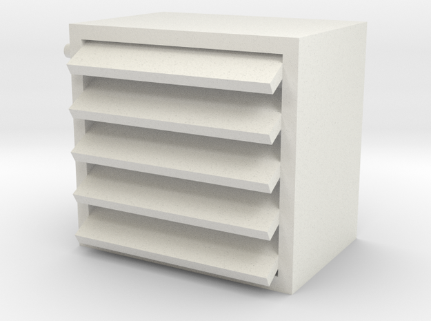 Heater 1/32 in White Natural Versatile Plastic