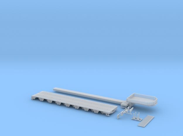 MPA 12 Tieflader ähnlich Goldhofer MPA 8 Achs 1 Te in Smooth Fine Detail Plastic