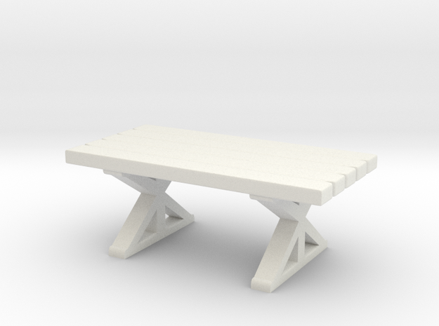 Tabletop: Trestle Table
