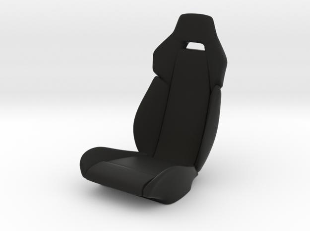 Sport Seat F12-Type - 1/10 in Black Natural Versatile Plastic