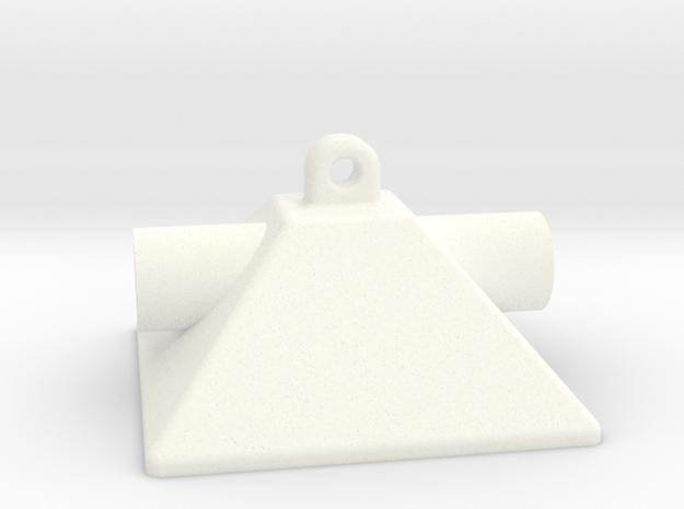 1/10 SCALE GROW ROOM FLOWERING HOOD in White Processed Versatile Plastic: 1:10