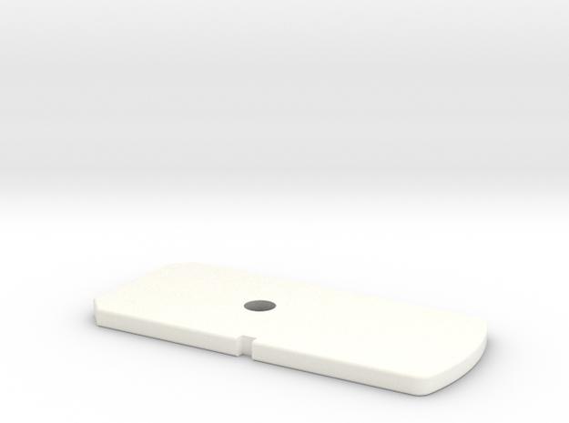 TFA BOTTOM mag PLATE  in White Processed Versatile Plastic