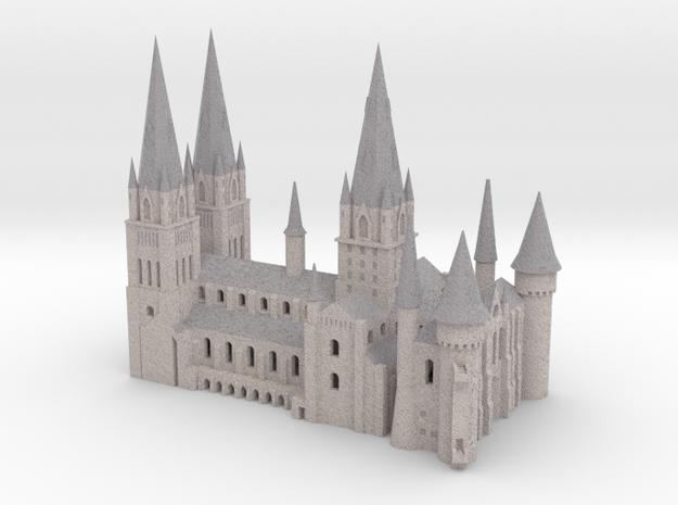 1/720 Hogwarts - Cathedral in Full Color Sandstone