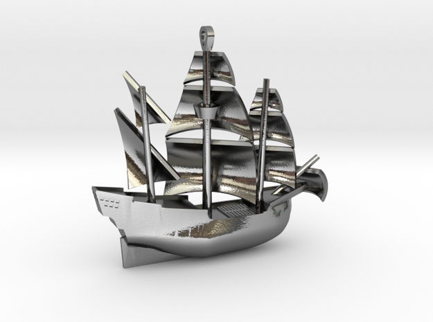 Galleon Small (Nov 1) 3d printed