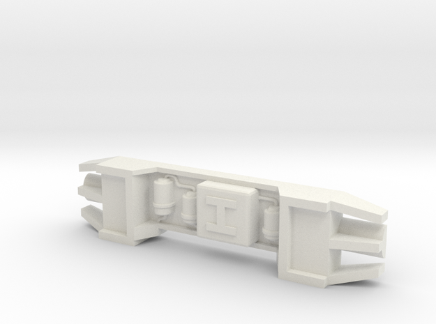 Howitzer Greeblie for Y-Wing in White Strong & Flexible