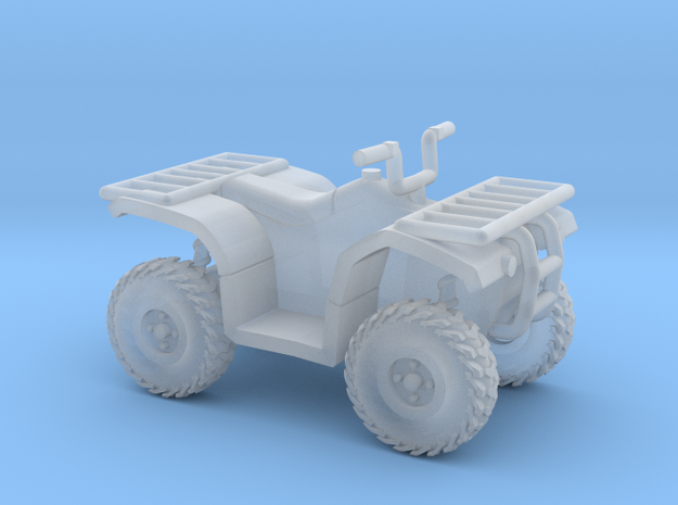 1:72 Scale Quad ATV in Smooth Fine Detail Plastic