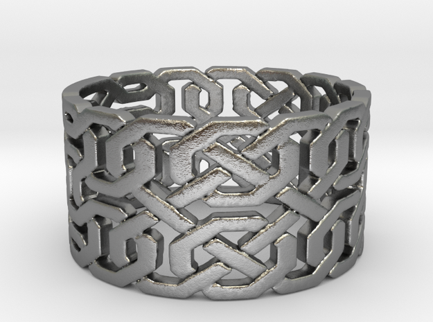 Dragon Ring (size 4-10.5) in Natural Silver: 7 / 54