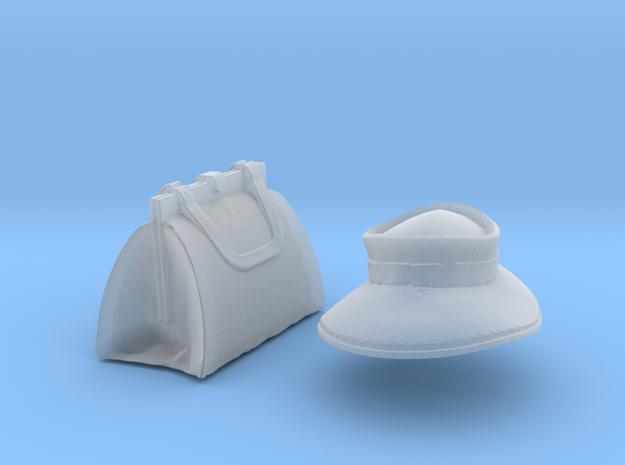 Handbagandhat in Smooth Fine Detail Plastic