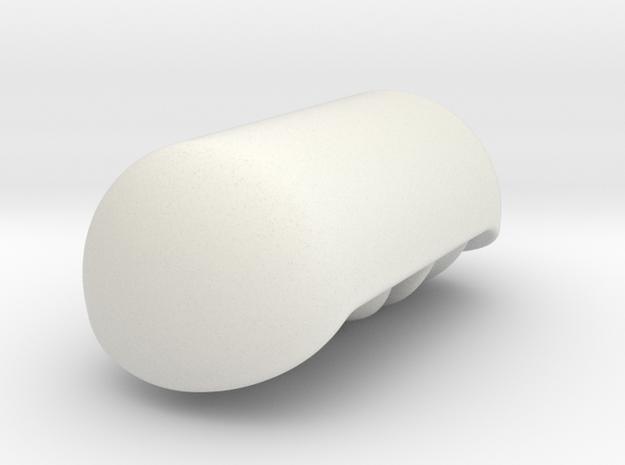 Mitochondria in White Natural Versatile Plastic
