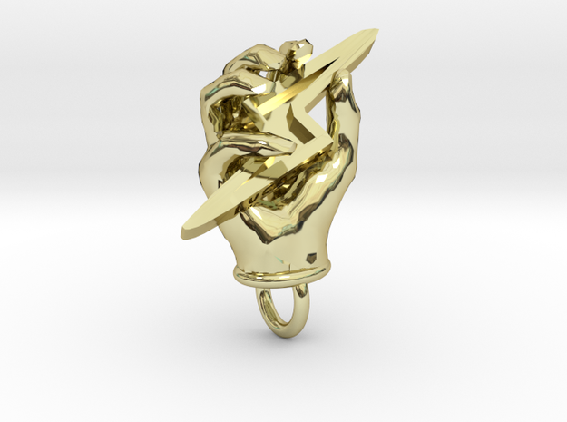 Hand of Zeus in 18K Gold Plated
