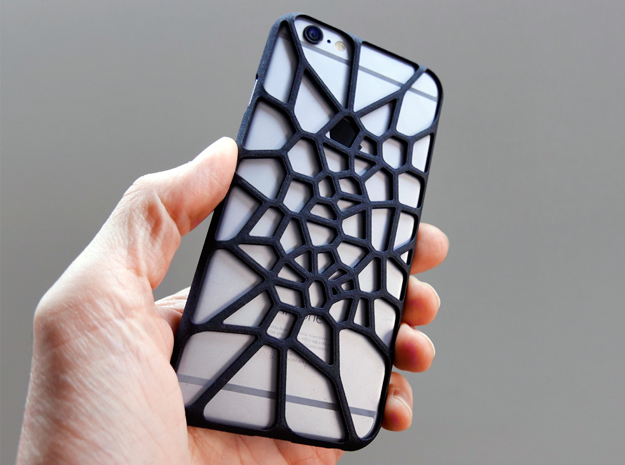 iPhone 6 plus / 6S plus Case_Cell Division in Black Strong & Flexible