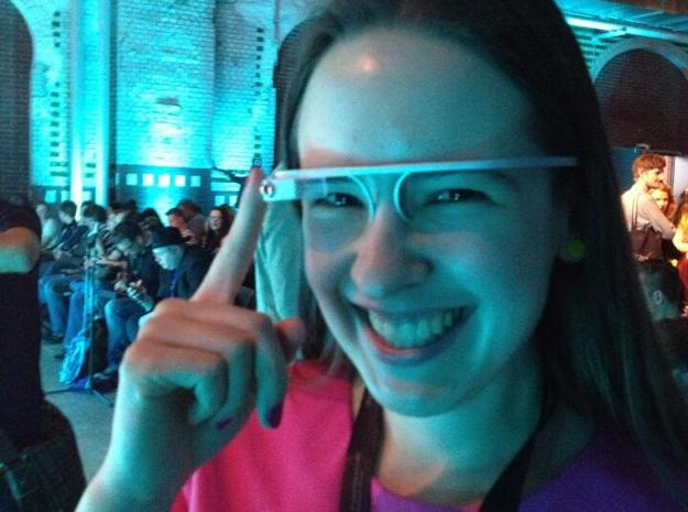 Google Glass Replica Fake MK3 - LIMITED EDITION 3d printed TRANSPARENT DETAIL - ACTUAL PRINTED MODELMK1(PAINTED)