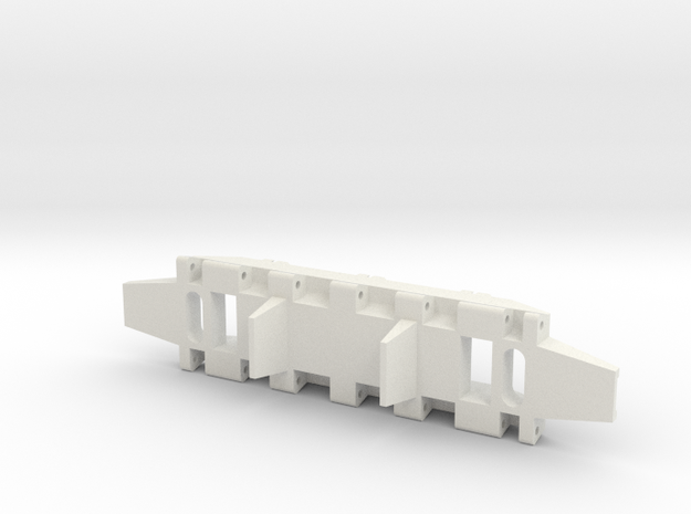 E-100 Track part 1 (lead)  1/16 in White Strong & Flexible