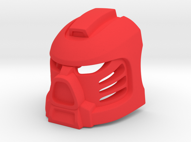 Tahu Prototype Mask in Red Strong & Flexible Polished