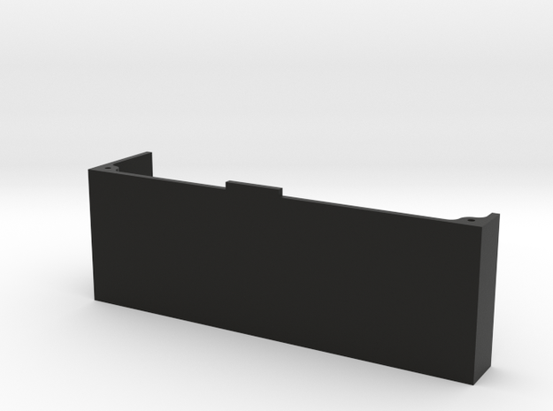 CMAX+D90 RAFFEE LEFT Battery Tray in Black Natural Versatile Plastic
