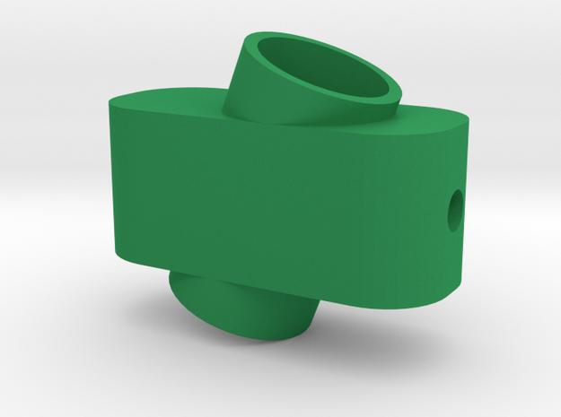 calypso cardan inner part (1/3) in Green Processed Versatile Plastic